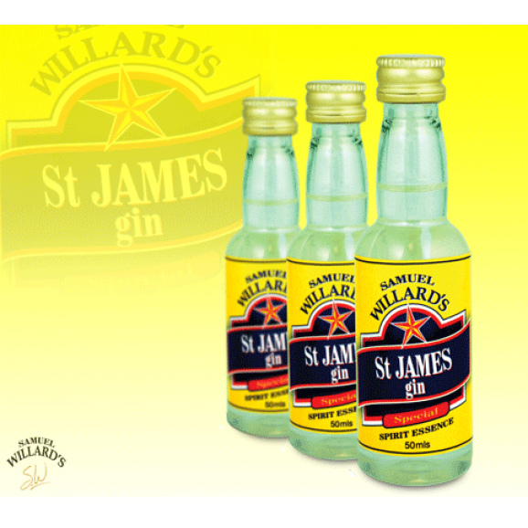 Samuel Willards Gold Star Essence St James Gin 50ml