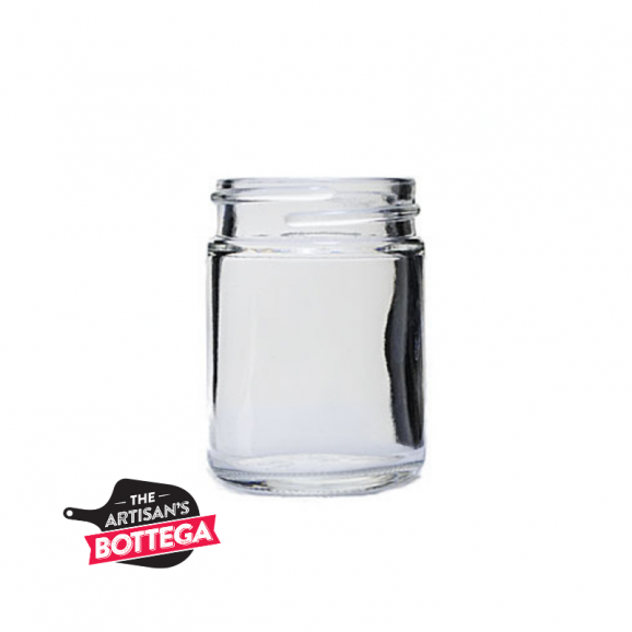 Glass jars available in multiple sizes