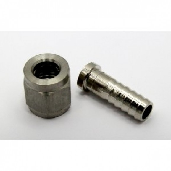 Hosetail MFL Nut and Barb 6mm for Keg Disconnect