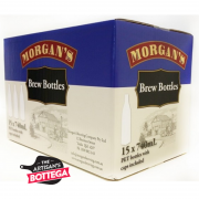 Morgans PET Plastic Beer Bottles 15 x 750 ml - Box