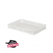Food Crate with Perforated Wall and Solid Base